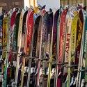 PA滑雪板UV油墨图片