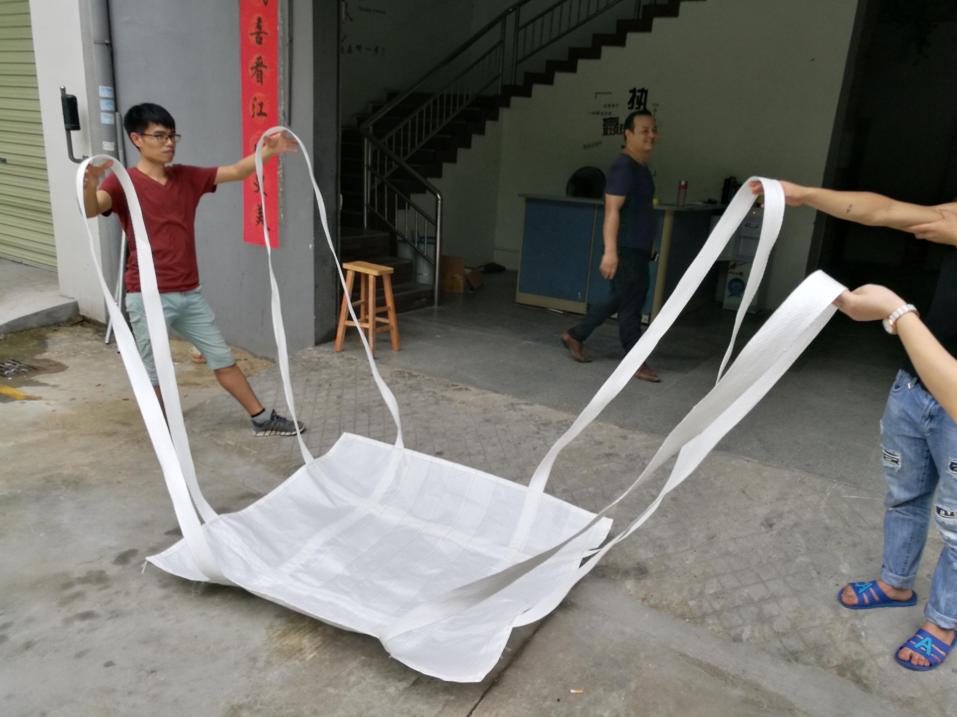 深圳威赢吨袋厂专业定制四吊软托盘大量批发