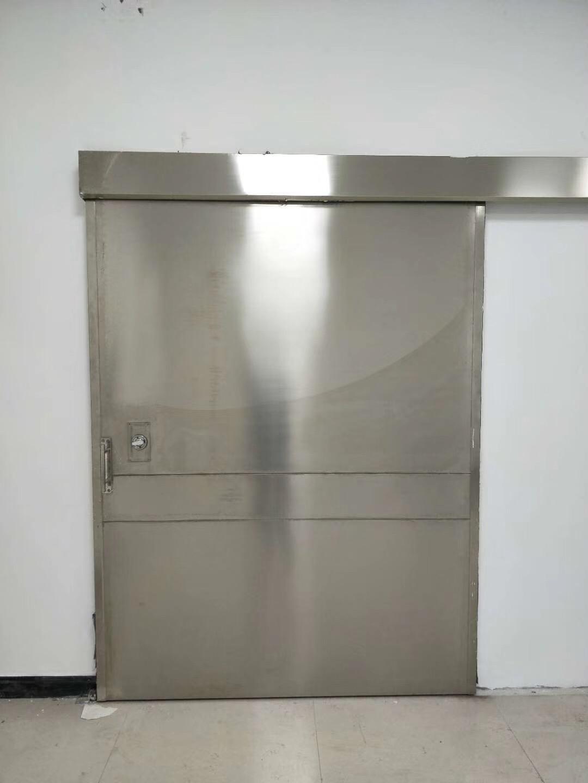 探伤电动射线防护门安装方式