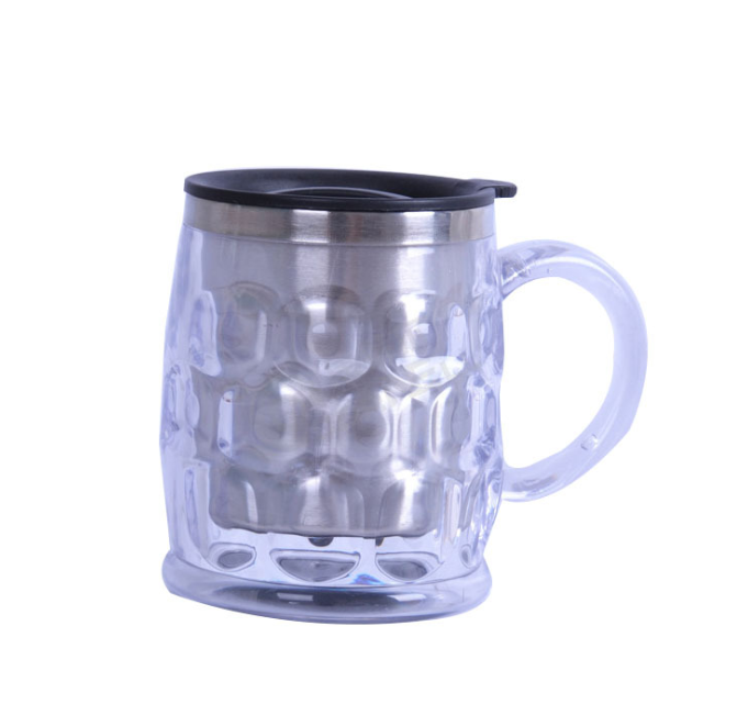 特价广告杯不锈钢汽车杯水晶杯啤酒杯免费印LOGO开业纪念杯