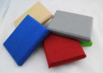 布艺软包吸音板 墙面软包吸音板图片