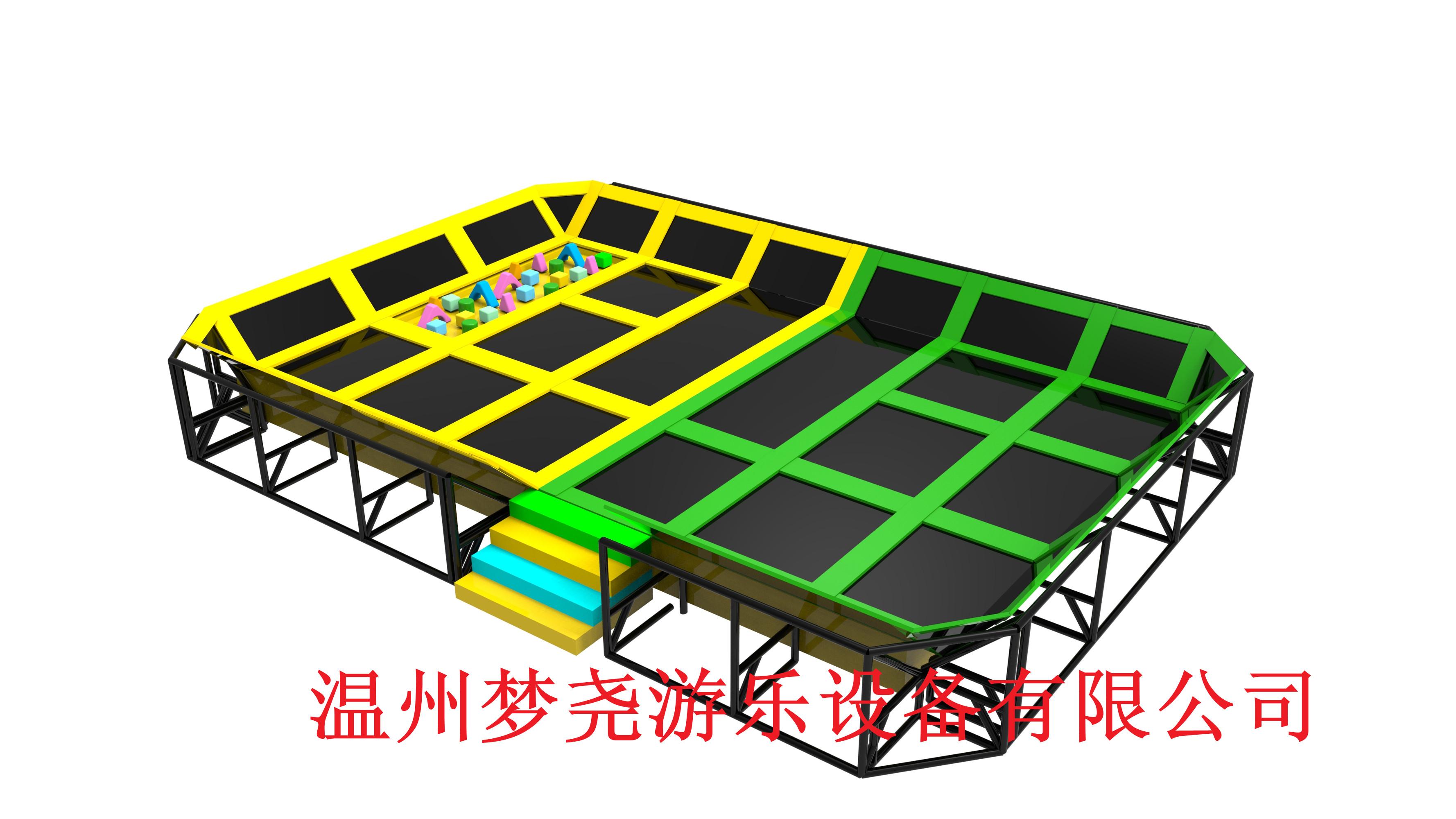 大型组合蹦床 酷跑蹦床公园 儿童室内游乐设施淘气堡 生产厂家 超级大蹦床