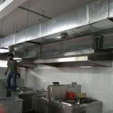 广州厨房排烟 镀锌风管加工  供应广州番禺厨房排烟管加工