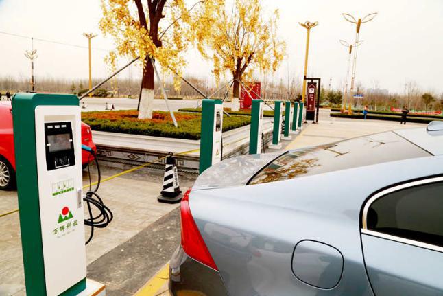 厂家直销 济宁电动汽车充电桩 交流 家用 建站运营 小区物业 7KW壁挂式交流充电桩