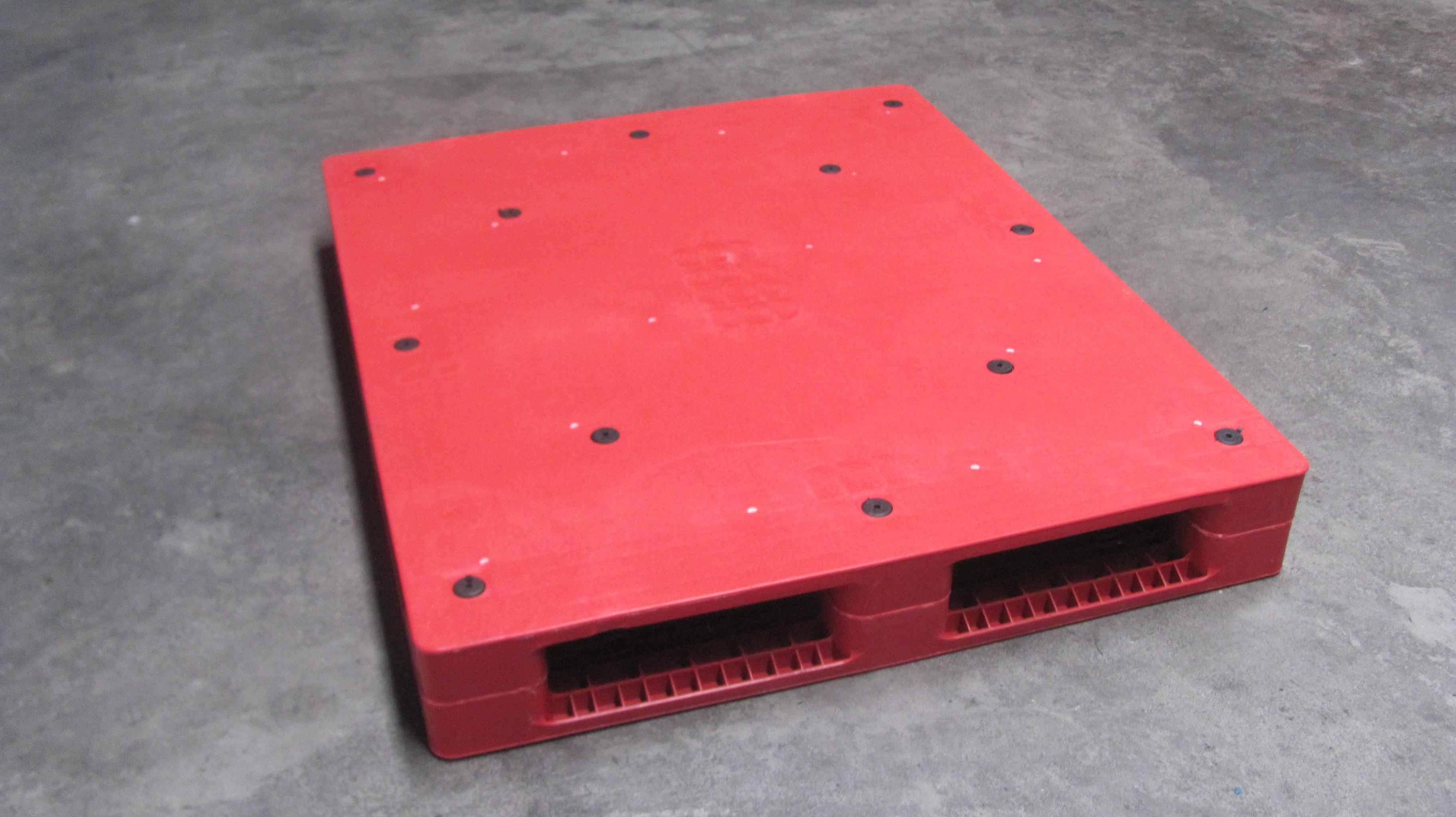 潍坊塑料托盘制造 双面平板塑料托盘1200*1000
