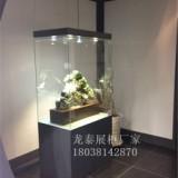 香港玉器展厅展柜设计制作厂家翡翠玉器收藏品展示柜制作文物展柜