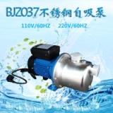 110V/60HZ不锈钢家用增压不锈钢水泵BJZ037设备加压自吸泵