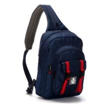 胸包 大容量多功能运动挎包 休闲时尚潮流胸包 SNK2210 灰色图片