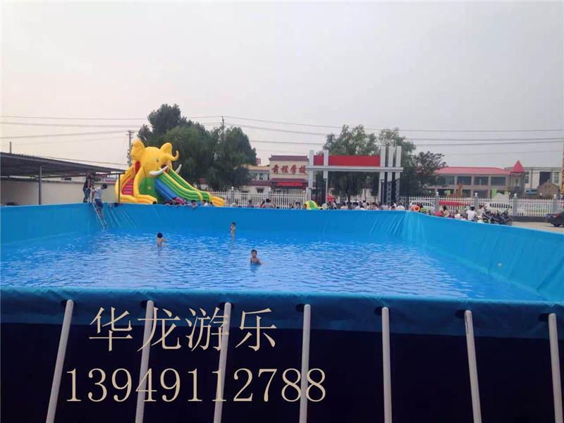 拆装式游泳池支架水池支架游泳池 水上乐园 卡通水滑梯   支架水池支架游泳池 拆装式游泳池支架水池支架游泳池