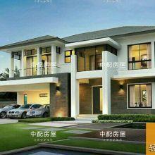 轻钢别墅品牌哪家强?中配集成房屋4大核心优势助您致富  轻钢结构建筑批发