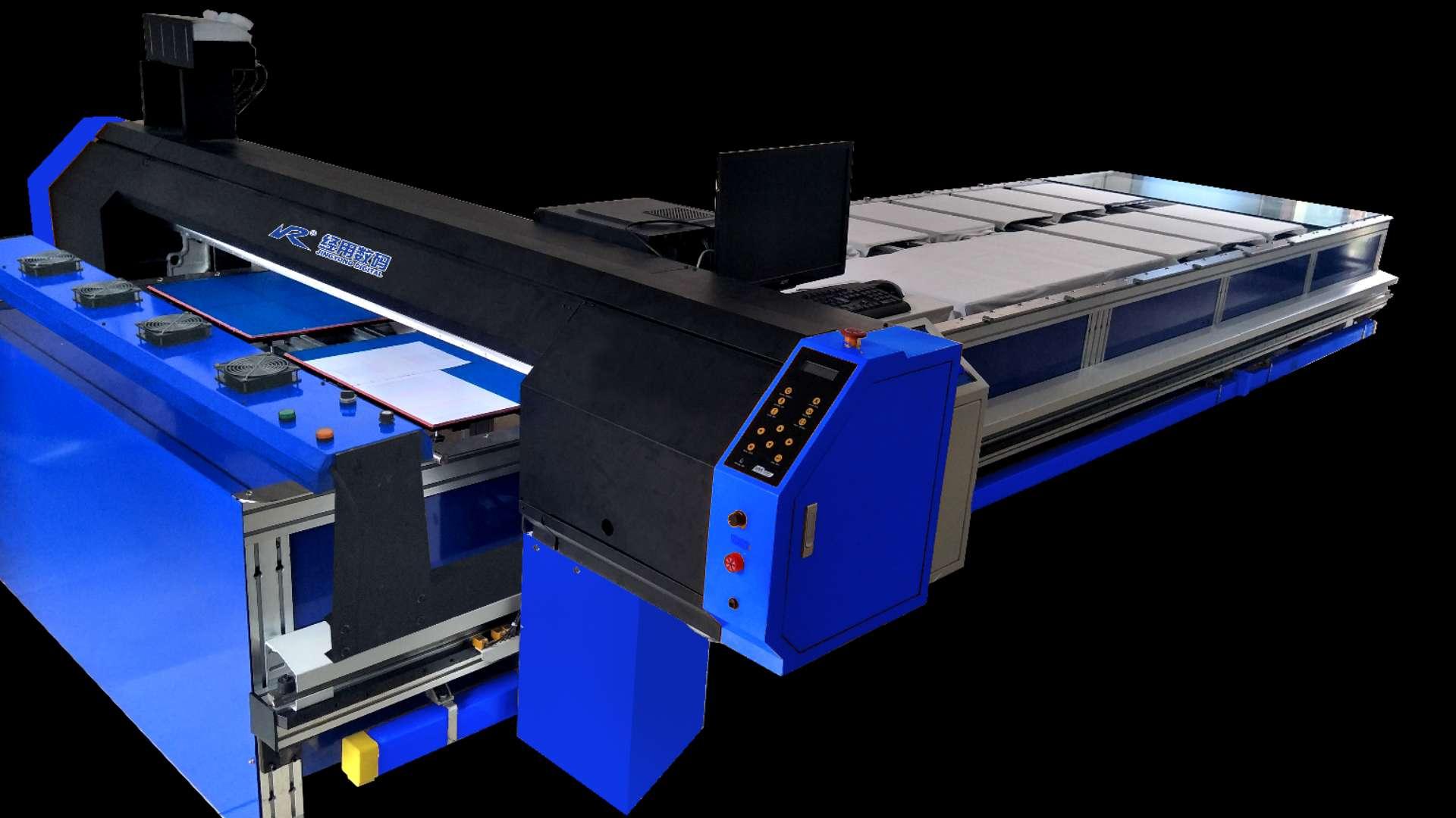 单双向循环跑台式经用数码服装直喷打印机
