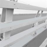 生产加工Q345镀锌喷塑栏杆 热镀锌道路护栏 梁柱式金属桥梁护栏