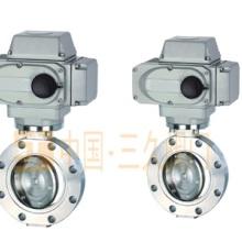 GID电动高真空蝶阀是以电动装置驱动阀杆与阀板执行启闭动作。用于接通或切断真空管路中的气流。适用介质为纯净空气和非腐蚀批发