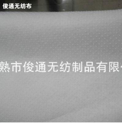 供应批发点塑防滑针刺无纺布 服装衬里点塑吸水防滑地毯