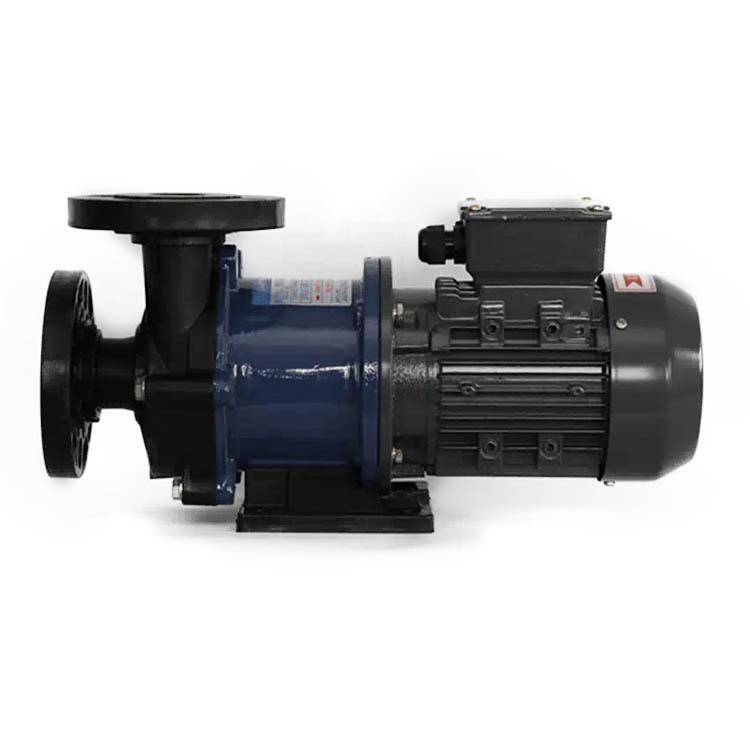 供应耐酸碱无泄漏大流量电镀PP塑料磁力泵