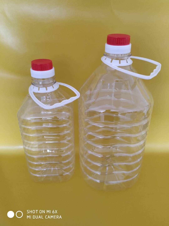 10升油壶透明桶10公斤塑料桶适用装液体溶液成本低