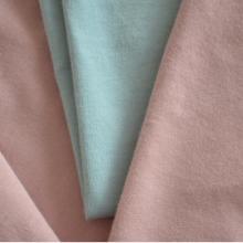 潍坊 40s纯棉有机棉汗布 弹力莱卡棉男女T恤休闲服针织面料批发
