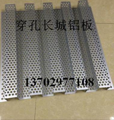 折弯木纹长城铝板图片/折弯木纹长城铝板样板图 (3)