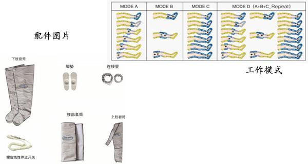 6腔加强型-LC600S空气波压力治疗仪价格 6腔加强型空气波压力治疗仪厂家 上海聚慕医疗全国代理