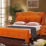 中式实木家具南康实木床