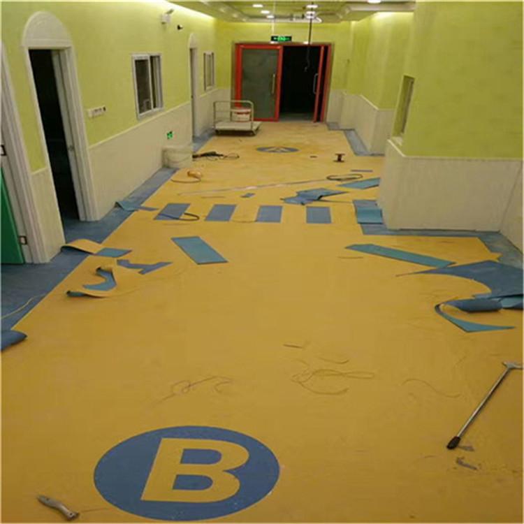 幼儿园塑胶地垫价格 幼儿园epdm地板 幼儿园塑胶地板材料