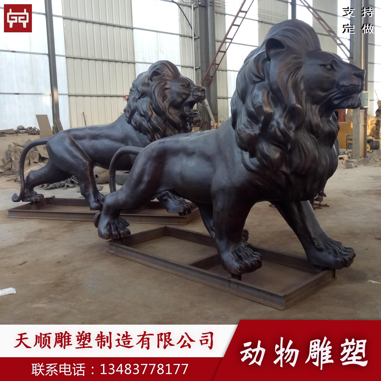铜狮子厂家定做河北天顺雕塑