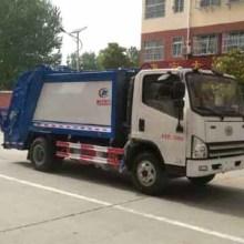 压缩垃圾车厂家 压缩垃圾车为垃圾清运所做的贡献图片