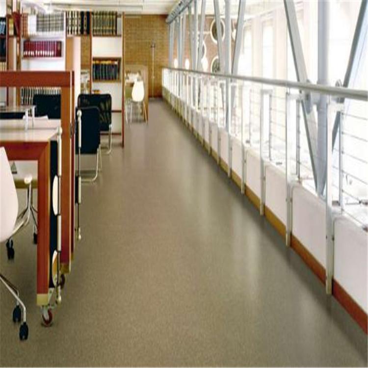 办公室地胶垫 pvc商用塑胶地板 办公室地胶施工