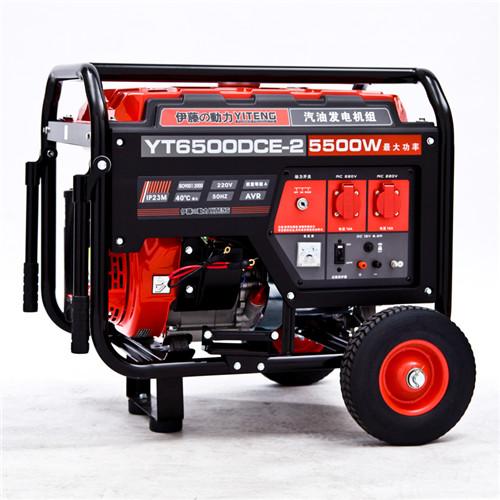 三相移动式5KW汽油发电机