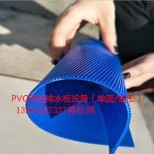 全套加工生产PVC双面毛细排水板设备 PVC塑料板材设备批发