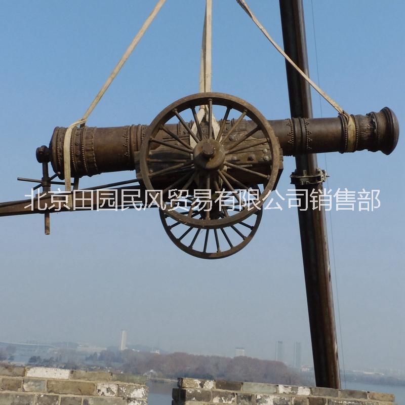 红夷大炮红衣大炮  铸铁大炮_铁炮工艺品摆件_景观雕塑_铁炮雕塑