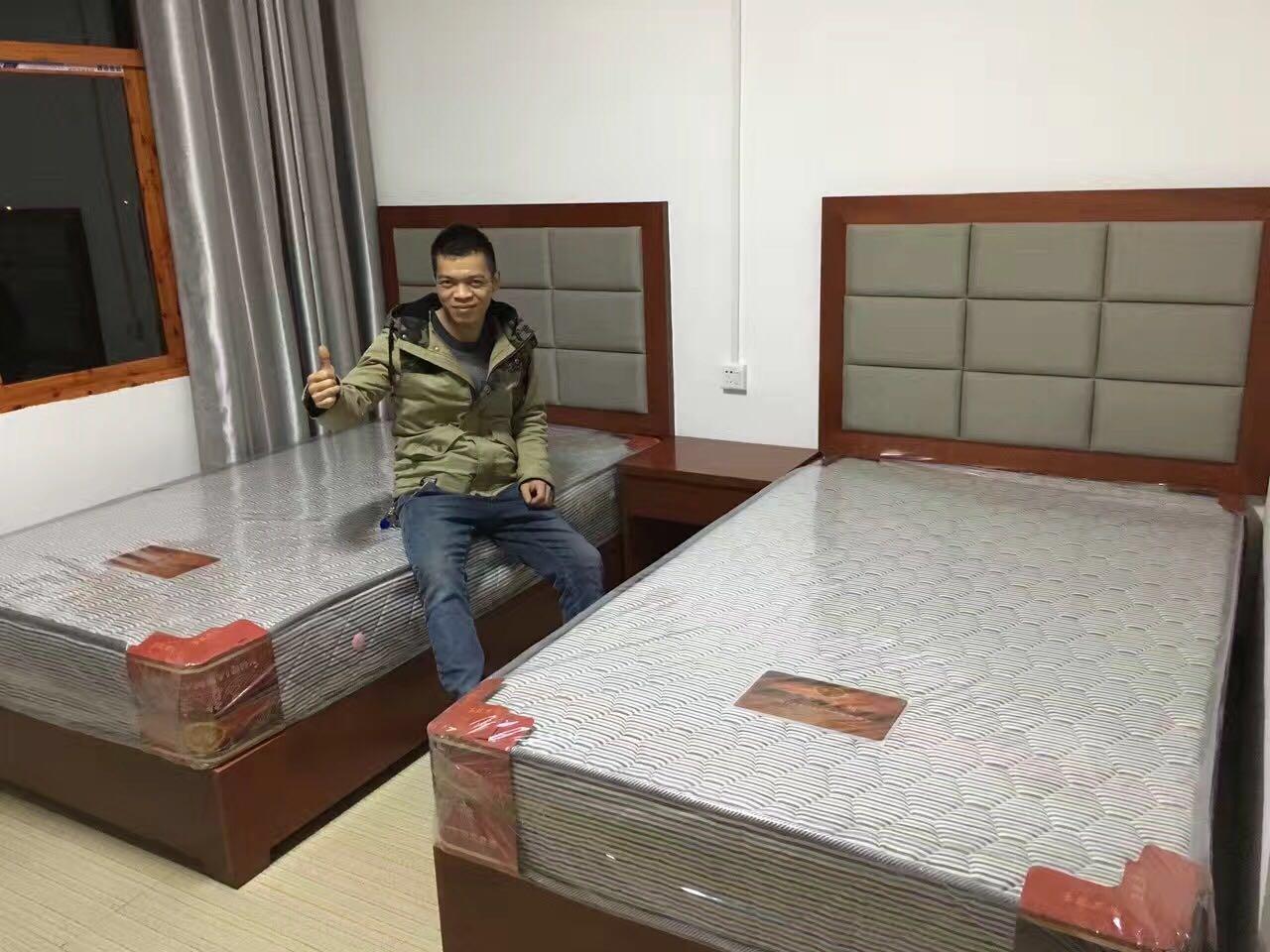 贵阳酒店标准床厂家批发,贵阳星级酒店床垫报价