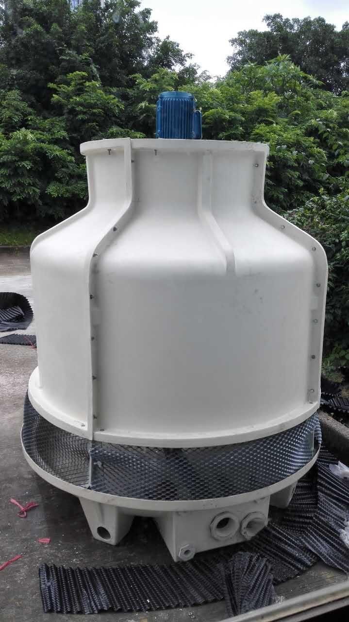 节能型圆形冷却塔 节能型圆形玻璃钢冷却塔