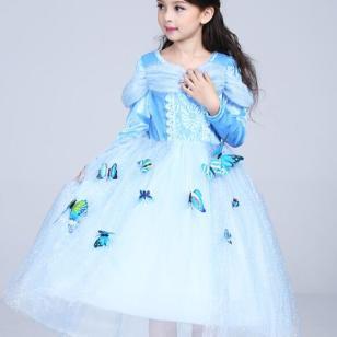 儿童演出服装图片
