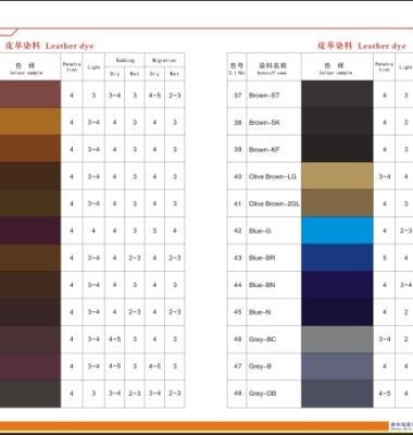 染皮革用环保酸性染料图片/染皮革用环保酸性染料样板图 (3)