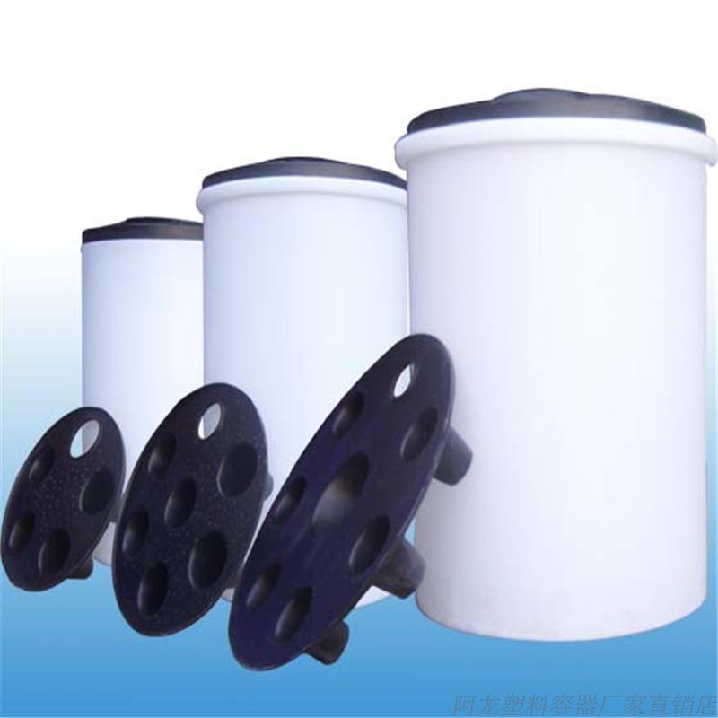 350L溶盐箱PE塑料容器/储罐 聚乙烯60L/100L/500L1吨2吨3吨蓄水箱