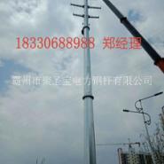 钦州 110kv 钢管杆批发销售图片