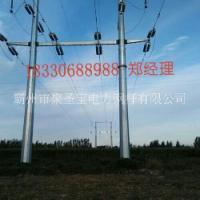 内江 10kv电力钢杆 钢管塔