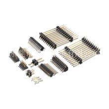 排针2.0间距 2.0双排双塑SMT 2.0双排直针 多类型排针 2.0单排M型插板