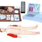 遥控式液晶彩显高级电脑心肺复苏模拟人