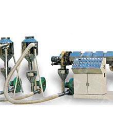 废料造粒机以HDPE、LDPE废膜为原料经挤出风冷热切制成颗粒,质量好 废料造粒机批发