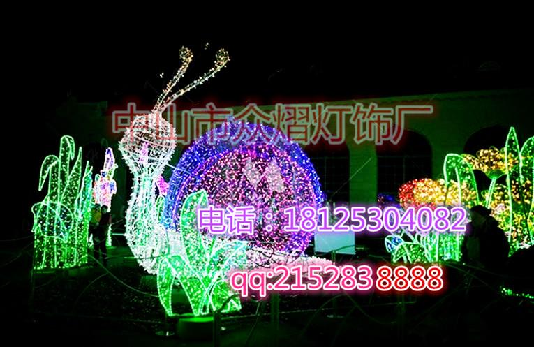 定制ABS滴胶飞马LED动物造型灯 户外装饰灯 街道亮化LED灯串