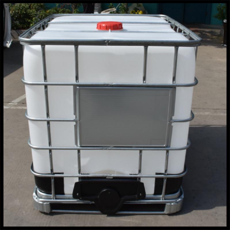 供应1000升方形塑料桶1吨袋铁框架食品 ibc吨桶 1000升塑料桶 1000升方形塑料桶1吨桶铁框架