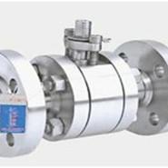 供应上海沪工国际浮动式锻钢球阀图片