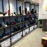 鞋包货架 精品多层鞋货架 服装店上墙包包货架 鞋店鞋架展示架