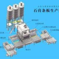 石膏墙板设备自动化生产线厂家山东七星实业  全自动石膏墙板生产线