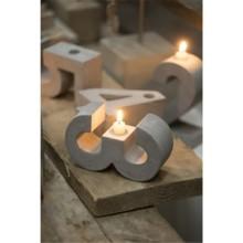 厂家热销 北欧水泥烛台混凝土软装饰家居原创意摆件批发