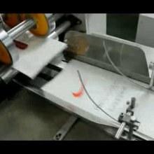 铜版纸手提袋制造机器 手提袋制造机器 环保铜版纸手提袋设备图片