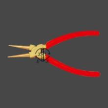 防爆挡圈钳厂家直销防爆卡簧钳 防爆内外挡圈钳 多功能卡簧钳