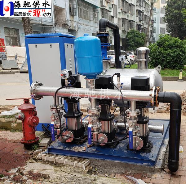 高层住宅自来水增压系统